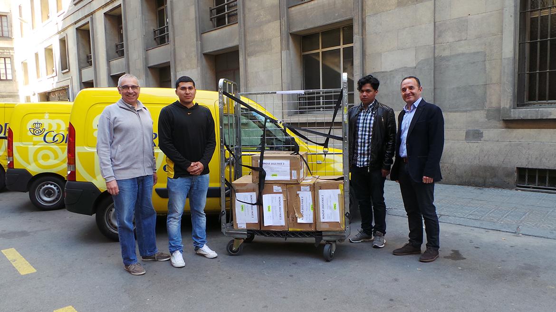 Donació d'equips informàtics de Correos